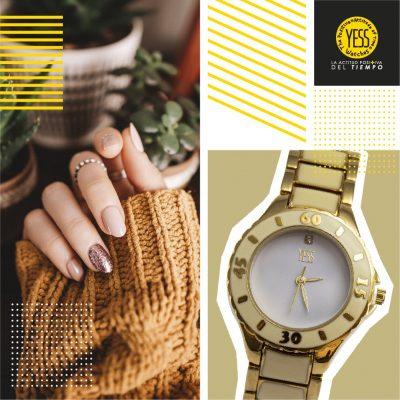 reloj de pulsera casual para mujer