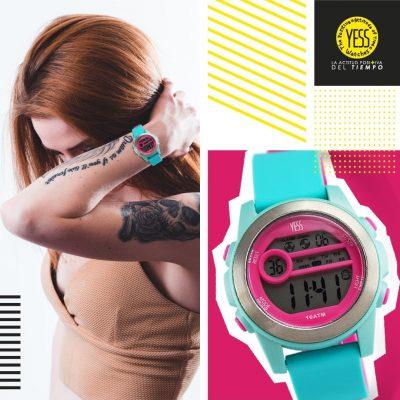 reloj de pulsera deportivo para mujer